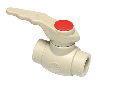 Photo: PLASTIC BALL VALVE
